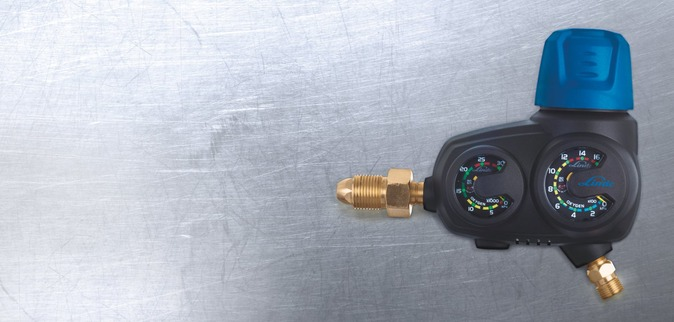 SMOOTHFLO gas pressure regulator
